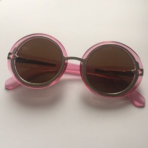 Karen Walker Romancer Round Sunglasses